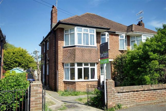 Thumbnail Flat for sale in Bruce Avenue, Worthing, West Sussex