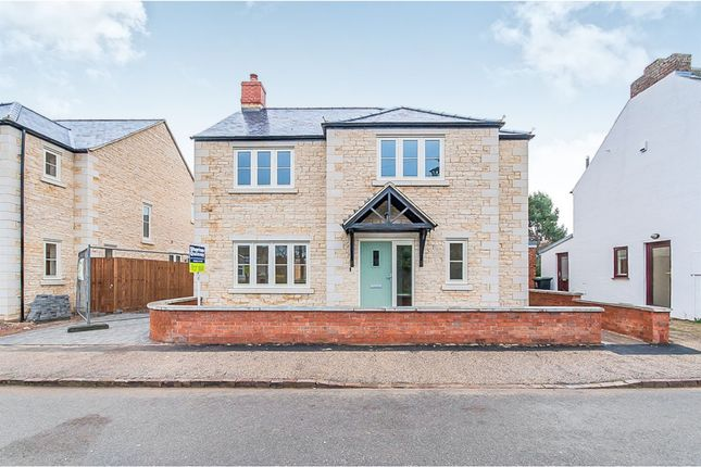 Thumbnail Detached house for sale in Chapel Street, Warmington, Peterborough