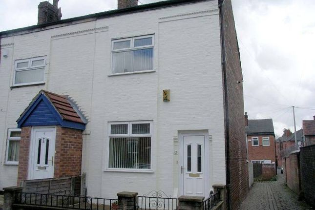 Thumbnail End terrace house to rent in Stafford Road, Swinton, Manchester