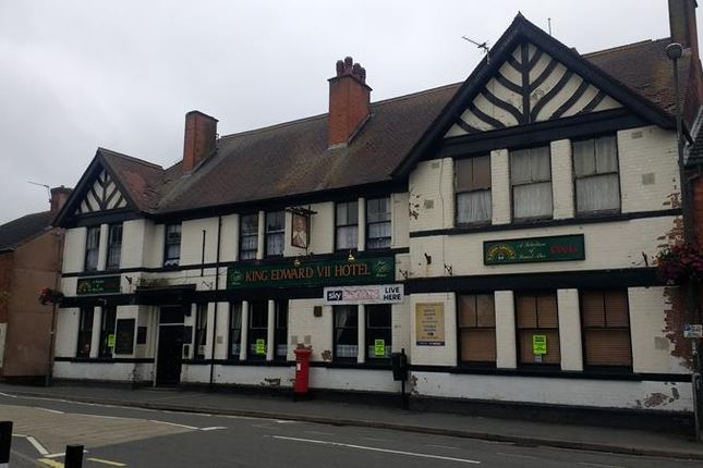Thumbnail Commercial property for sale in King Edward VII, 121 High Street, Tibshelf, Alfreton