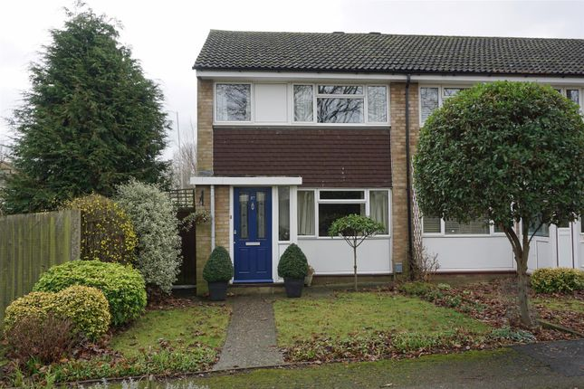 Thumbnail End terrace house for sale in Keats Way, Hitchin