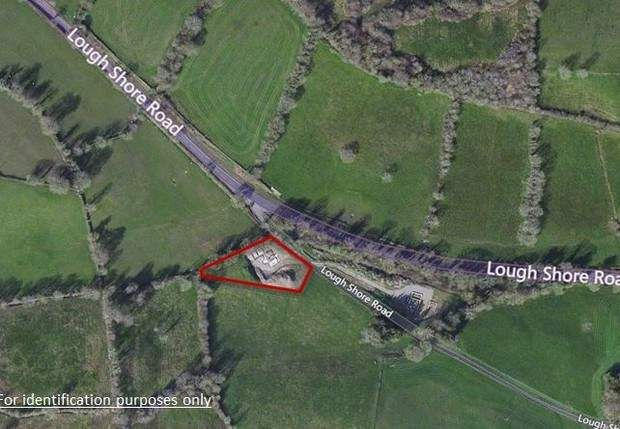 Thumbnail Land to let in Site At Lough Shore Road, Blaney, Enniskillen, County Fermanagh