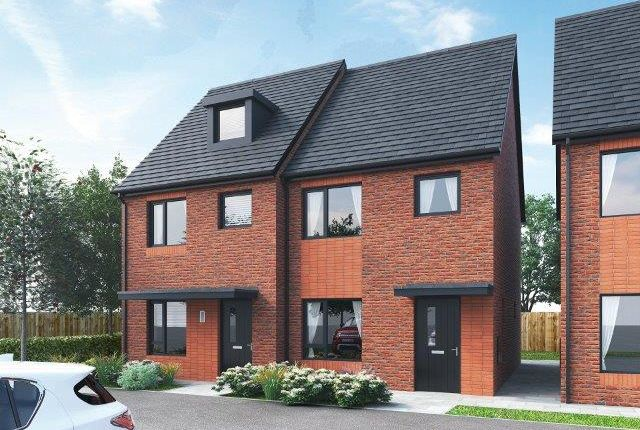Thumbnail Semi-detached house to rent in Faversham Way, Rock Ferry, Birkenhead