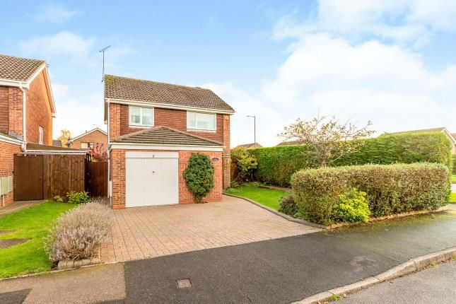Thumbnail Detached house for sale in Nicholson Close, Woodloes Park, Warwick, Warwickshire
