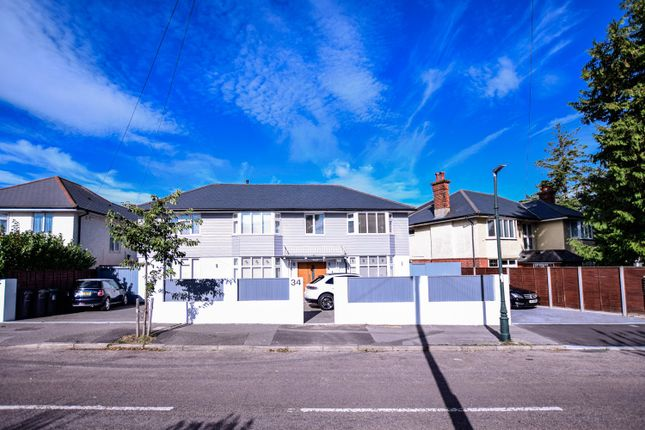 Thumbnail Detached house for sale in Stokewood Road, Winton, Bournemouth