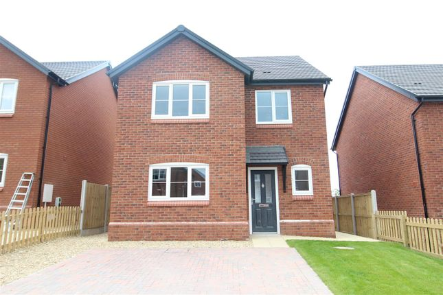 Detached house for sale in Plot 16, Hopton Park, Nesscliffe, Shrewsbury
