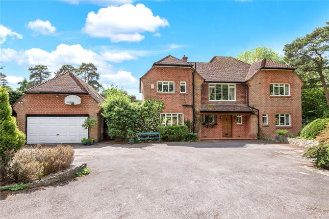 Thumbnail Detached house for sale in Hollow Dene, Chilworth, Hampshire