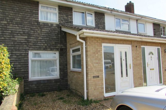 Thumbnail Terraced house to rent in Sallowbush Road, Huntingdon