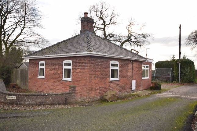 Thumbnail Detached bungalow to rent in Ash Parva, Whitchurch, Shropshire