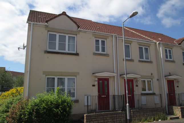 Thumbnail End terrace house to rent in Marleys Way, Frome