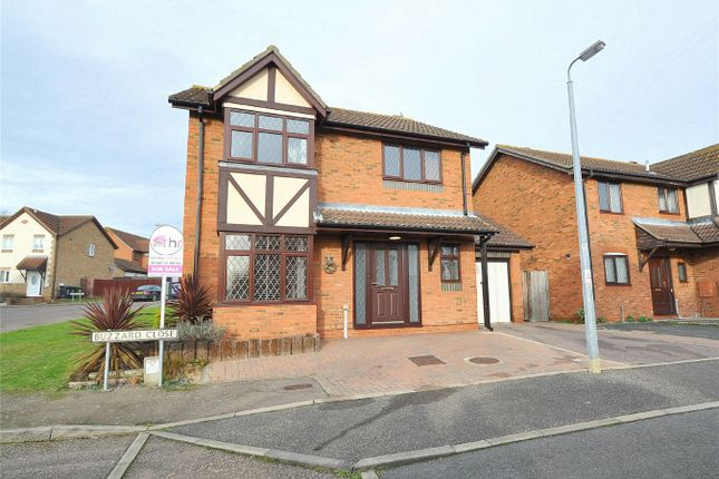 Thumbnail Detached house for sale in Buzzard Close, Hartford, Huntingdon, Cambridgeshire