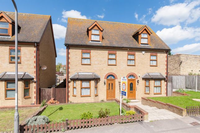 Thumbnail Semi-detached house for sale in Elm Grove, Westgate-On-Sea