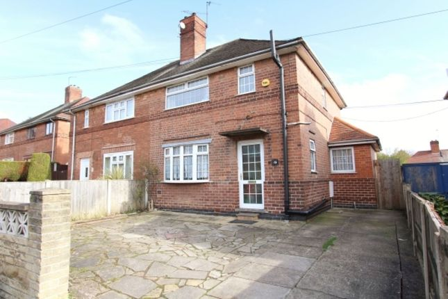 Thumbnail Semi-detached house to rent in Boundary Crescent, Beeston, Nottingham