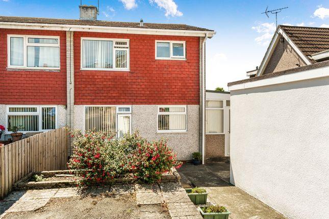 Thumbnail Semi-detached house for sale in Mortimore Close, Saltash
