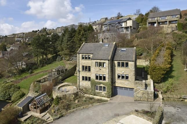 Thumbnail Detached house for sale in Taylor Lane, Scapegoat Hill, Huddersfield, West Yorkshire