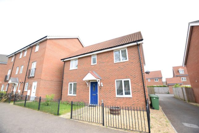 Thumbnail Detached house for sale in Cringleford, Norwich