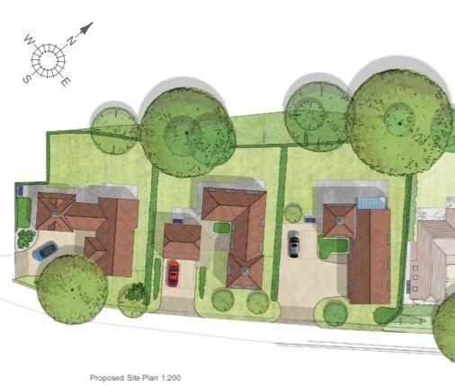 Site Plan of Crismill Lane, Bearsted, Maidstone ME14