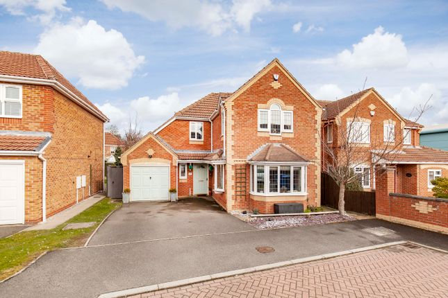 Thumbnail Detached house for sale in Birstall Close, Upper Newbold, Chesterfield