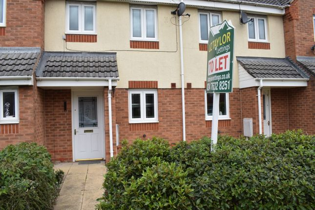 Thumbnail Terraced house to rent in Water Lily Way, Nuneaton
