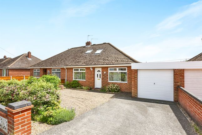 Thumbnail Bungalow for sale in Wood View Road, Hellesdon, Norwich