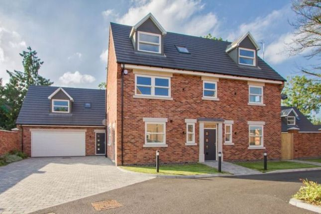 Thumbnail Detached house for sale in Meadow Close, Countesthorpe, Leicester