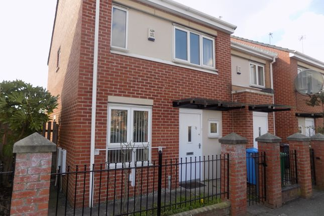 Thumbnail Terraced house to rent in Ellis Street, Hulme