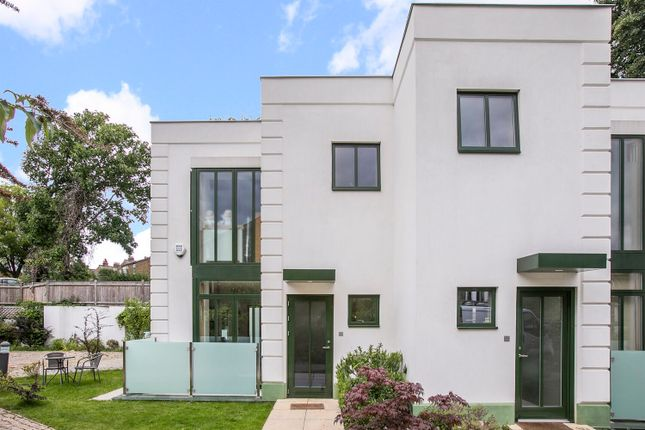 Thumbnail End terrace house to rent in Abbey Mansions Mews, London