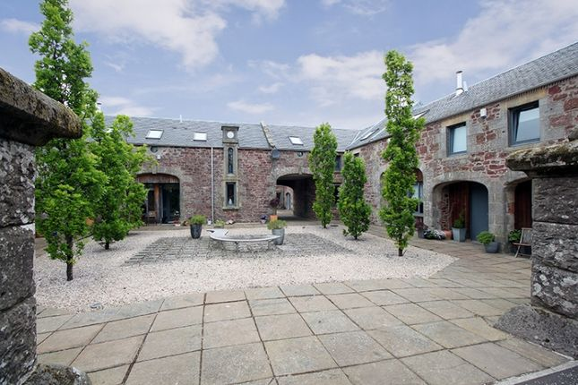 Thumbnail Farmhouse for sale in Cuthill Towers, Milnathort, Kinross, Perthshire