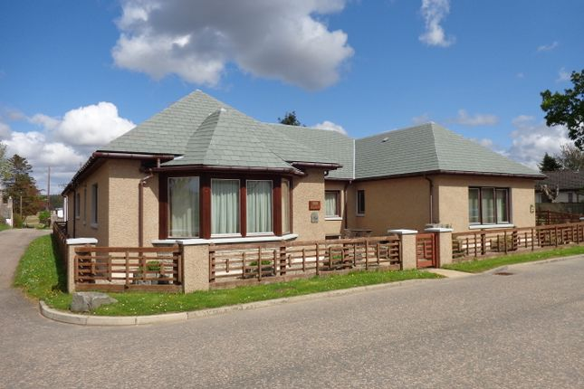 Thumbnail Detached bungalow for sale in Romar, Cults Drive, Tomintoul