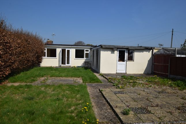 Rear Elevation of Camber Drive, Pevensey Bay BN24