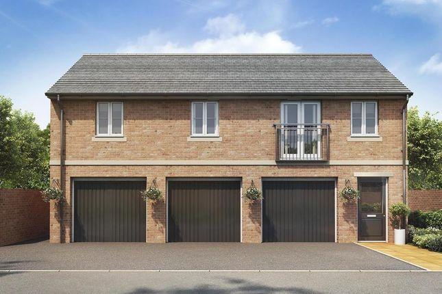 "Thumbnail Detached house for sale in ""Stevenson"" at Warkton Lane, Barton Seagrave, Kettering"