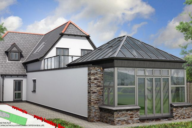 Thumbnail Detached house for sale in Polscoe, Lostwithiel