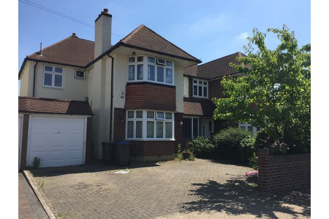 Thumbnail Semi-detached house to rent in Avondale Avenue, Worcester Park