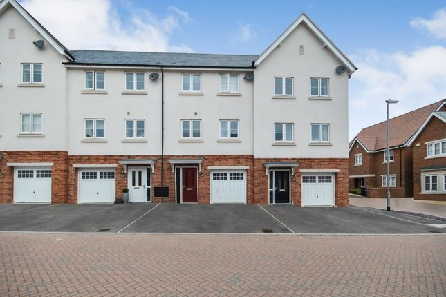 Thumbnail Terraced house for sale in Hodgson Way, Gilston, Harlow
