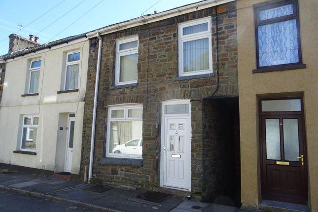 Thumbnail Terraced house for sale in Llewellyn Street, Nantymoel, Bridgend