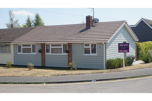 Thumbnail Semi-detached bungalow for sale in Cromwell Way, Witham