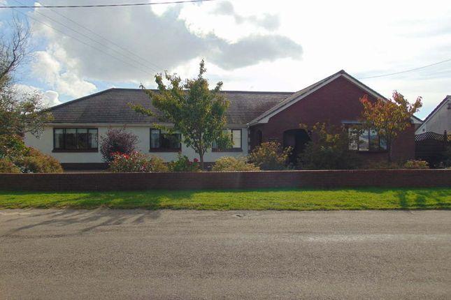 Thumbnail Detached bungalow for sale in Crud Yr Awel, Trimsaran, Trimsaran
