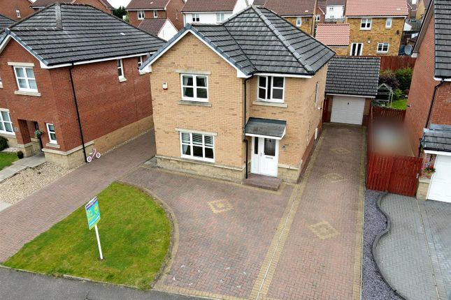 Thumbnail Detached house for sale in Brambling Road, Coatbridge
