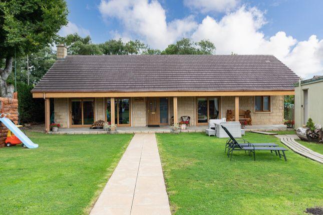 Thumbnail Detached bungalow for sale in Glenboig Farm Road, Glenboig, Coatbridge
