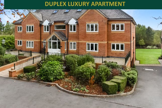 Thumbnail Flat for sale in Birkdale Court, Evington, Leicester