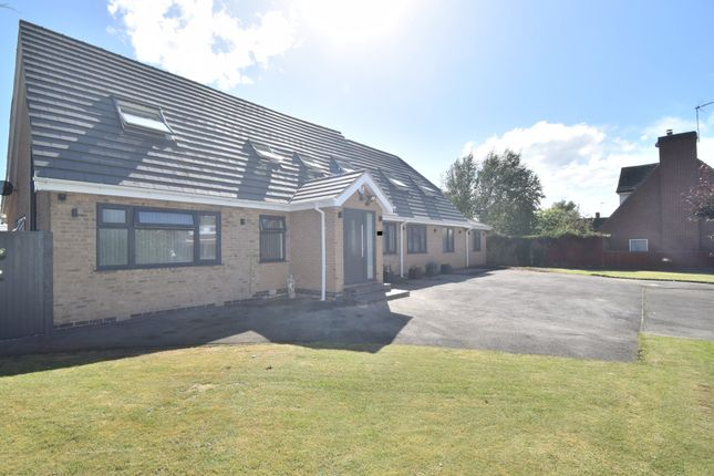 Thumbnail Detached bungalow for sale in Chestnut Drive, Bushby, Leicester