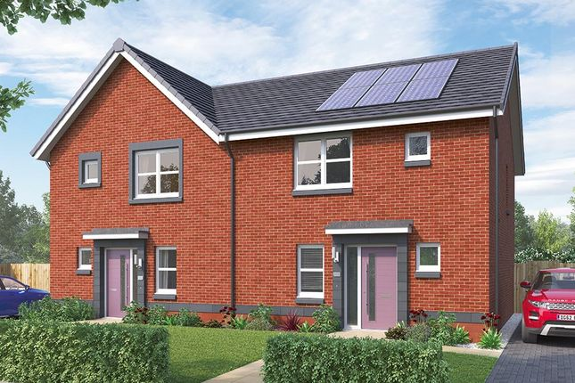 """Thumbnail Semi-detached house for sale in """"The Hamilton"""" at Crosshill Road, Bishopton"""