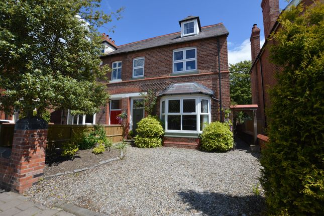 Thumbnail Semi-detached house for sale in Vicarage Road, Hoole, Chester