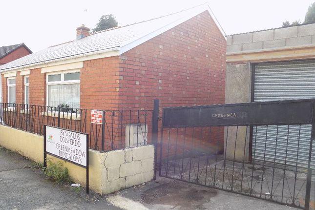 Thumbnail Bungalow for sale in Greenmeadow Terrace, Tillery Road, Cwmtillery, Abertillery