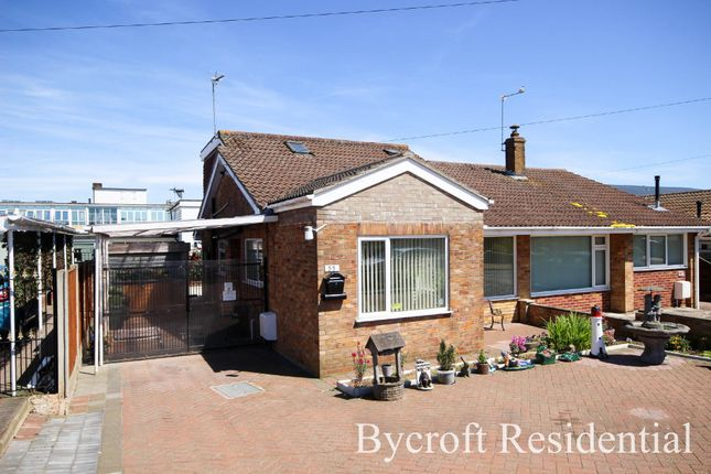 Thumbnail Semi-detached bungalow for sale in Seafield Road North, Caister-On-Sea, Great Yarmouth