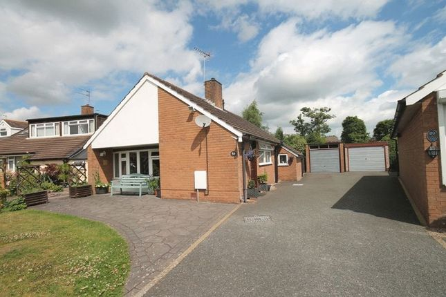Thumbnail Detached bungalow for sale in Grove Gardens, Market Drayton
