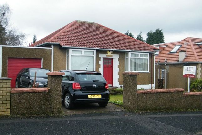 Thumbnail Detached bungalow to rent in Rannoch Drive, Bearsden, Glasgow