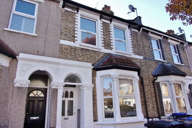 Thumbnail Terraced house to rent in Dundee Road, London