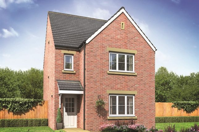 "Thumbnail Detached house for sale in ""The Lumley"" at Buckingham Court, Harworth, Doncaster"