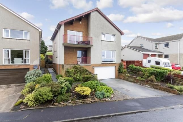 Thumbnail Detached house for sale in Abden Avenue, Kinghorn, Burntisland, Fife